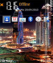 Megapolis theme screenshot
