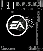 EA Games theme screenshot