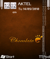 Chocolate by Drockk theme screenshot