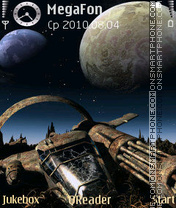 Lost Flyer theme screenshot