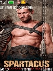 Spartacus theme screenshot