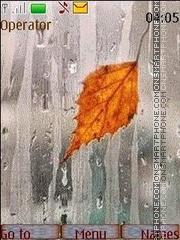 Скриншот темы Music of autumn rains