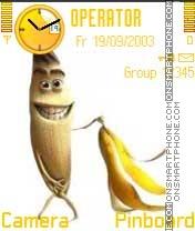 Naked Banana es el tema de pantalla