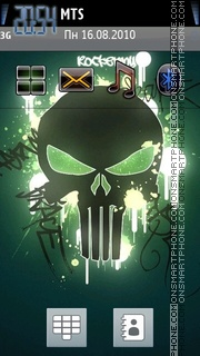 Punisher 05 theme screenshot