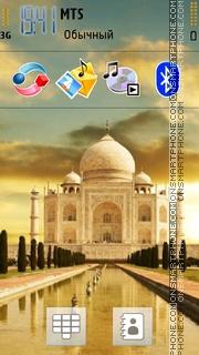 Tajmahal 01 Theme-Screenshot