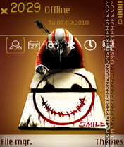 Smile 12 theme screenshot
