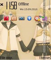 Mirror Music 2 (3rd) es el tema de pantalla