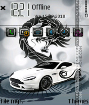 Aston martin 10 theme screenshot