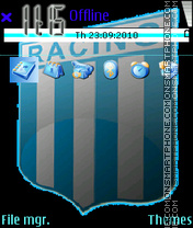 Скриншот темы Racing Club de Avellaneda