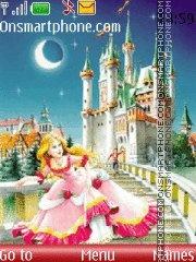 Скриншот темы Cinderella 01
