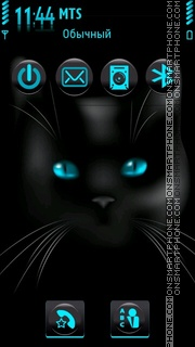 Cateyes 01 tema screenshot