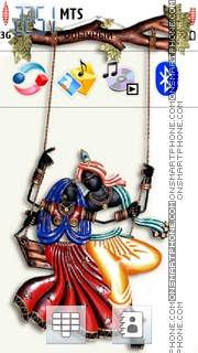 Radhakrishna 02 theme screenshot