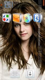 Скриншот темы Kristen Stewart 03