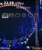 Скриншот темы Ferris Wheel 02