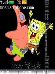 Скриншот темы The SpongeBob SquarePants