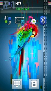 Parrot 04 theme screenshot