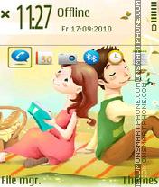 Capture d'écran AJOEQX thème