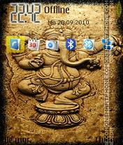 Скриншот темы Ganesh 07