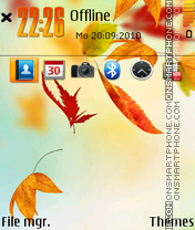 Autumn leaves 02 Theme-Screenshot