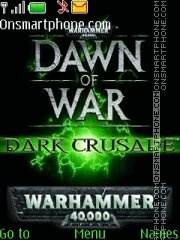 Warhammer 40k dow dc theme screenshot