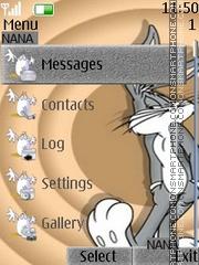 Bunny Clock es el tema de pantalla