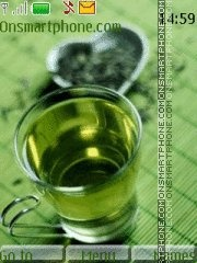 Green Tea theme screenshot