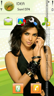 Priyanka Chopra v5 theme screenshot