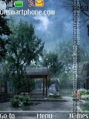 Rainy day tema screenshot