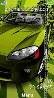 Dodge Viper Green es el tema de pantalla