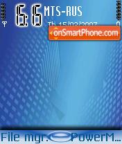 Blue Style tema screenshot
