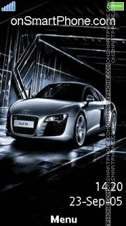 Audi 15 es el tema de pantalla