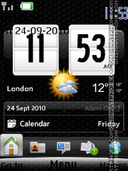 Htc Touch With Tone theme screenshot