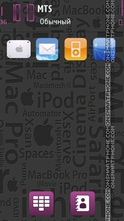 Apple Theme 05 theme screenshot