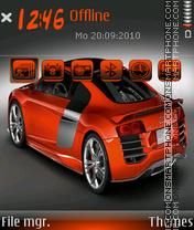 Audi r8 20 es el tema de pantalla