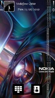 Скриншот темы Nokia Abs