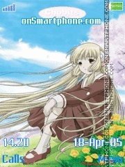 Chobits tema screenshot