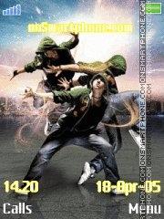 Dance bass45 tema screenshot