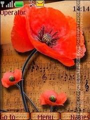 Music of poppies theme screenshot
