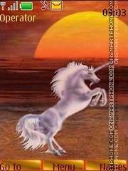 Unicorns theme screenshot