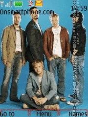 Capture d'écran Backstreet Boys With Tone thème