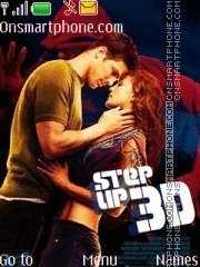 Step Up 3d 01 theme screenshot