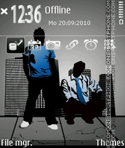 Street-life 3rd theme screenshot