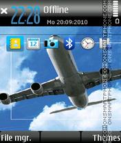 Aviator 01 es el tema de pantalla