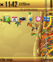 Ethnic mr theme screenshot