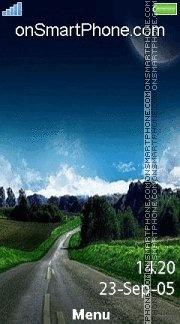 Road To Moon 01 es el tema de pantalla