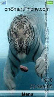 White Tiger 09 es el tema de pantalla