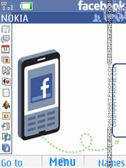 Скриншот темы Facebook 01