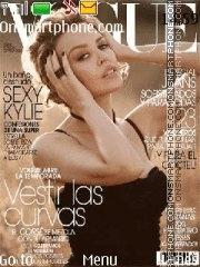Vogue Charlize Theron theme screenshot
