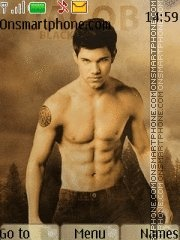 Jacob black 01 Theme-Screenshot