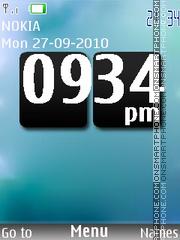 Simple Clock theme screenshot